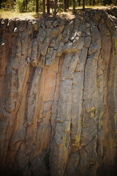Rock Climbing Photo: Joel & Carrie