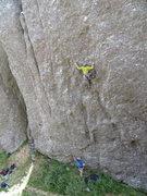 Rock Climbing Photo: Joel working it out