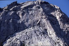 Rock Climbing Photo: North Dome Apron and Headwall. Zumwalt Meadow, Kin...