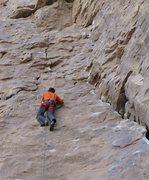 Rock Climbing Photo: climbing up the face
