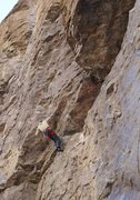 Rock Climbing Photo: Starting the first roof