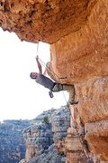Rock Climbing Photo: Myself working out the kinks before the eventual F...