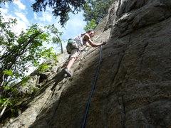 Rock Climbing Photo: Glen having fun.