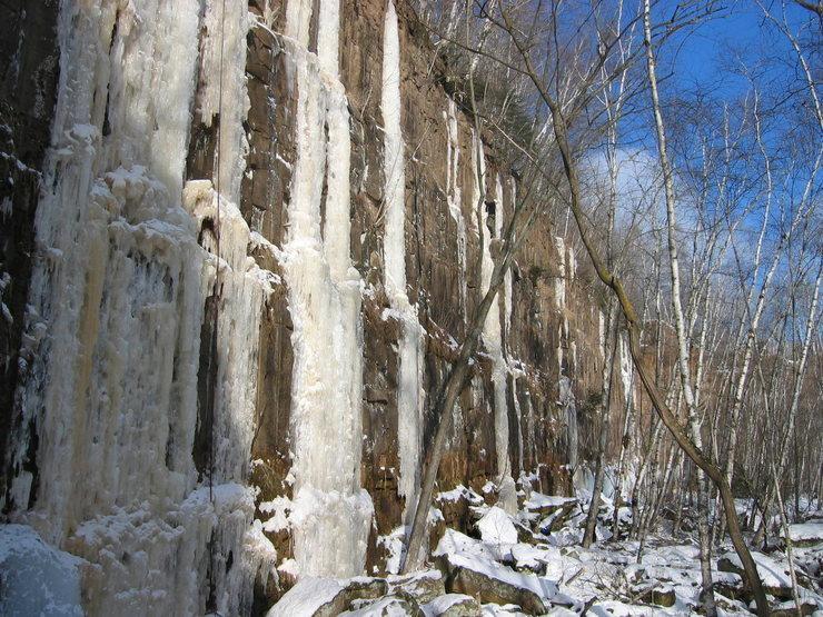 Rock Climbing Photo: CT Ice
