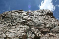 Rock Climbing Photo: Craiger cruisin gone with the wind 5.7***