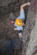 Rock Climbing Photo: Dawson Robb squeezing the thin stuff