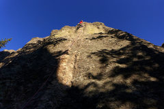 Rock Climbing Photo: Goldberry Lane in the evening light. Photo: Nate E...
