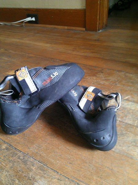 Side, heel