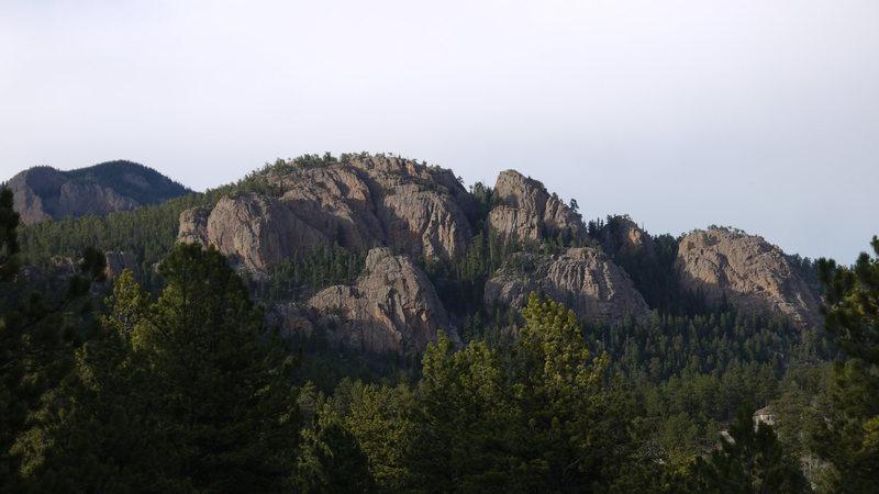 Elk Creek Spires.