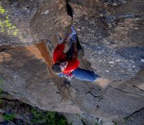 Rock Climbing Photo: FA of Rapture 5.10 with John Burcham on the attent...