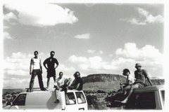 Rock Climbing Photo: Indian Creek, UT late nineties... from the right- ...