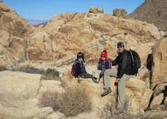 Rock Climbing Photo: A little jaunt with the boys up Rattlesnake Canyon...