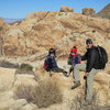 A little jaunt with the boys up Rattlesnake Canyon, in Joshua Tree National Park. (New Year's Eve 2012/13)