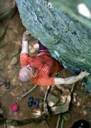 Rock Climbing Photo: Stephan Wilmas on Psychotherapy, photo by Thomas D...