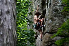 Rock Climbing Photo: Unknown climber from Carbondale on what I believe ...