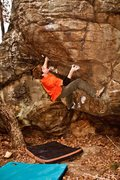 Rock Climbing Photo: Patrick Graham milk the Brown Cow.  Photo by Thoma...