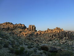 Rock Climbing Photo: Looking Northeast towards Sidewinder Rock from The...