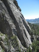 Rock Climbing Photo: At least 6 parties around The Book.  As viewed fro...