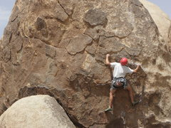 Rock Climbing Photo: Kenton Card on Cutting Teeth