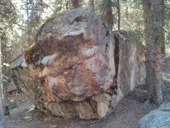 Rock Climbing Photo: Bart Boulder.