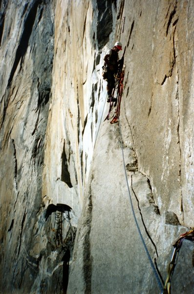 Rock Climbing Photo: on Zodiac. Photo by Vince Bert, surfer at large. B...