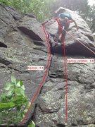 Rock Climbing Photo: Equinox and variation.
