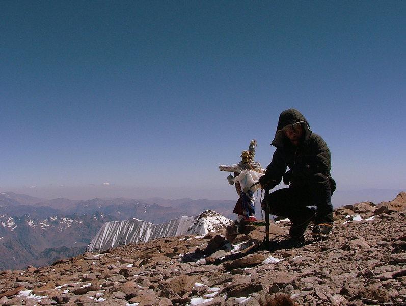 Aconcagua Summit.