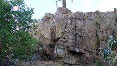 Rock Climbing Photo: Left of Center.