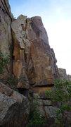 Rock Climbing Photo: Left Crack.