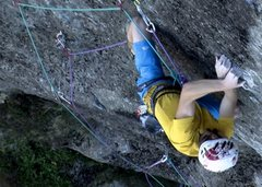 Rock Climbing Photo: james pearson e8/9 from the odyssey
