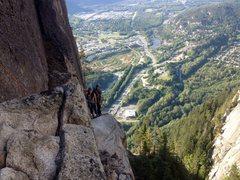 Rock Climbing Photo: butt face 5.8