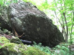 Rock Climbing Photo: Parlier starting on Patriot Arete