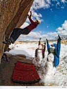 Rock Climbing Photo: Ben Moon Photo - Patagonia Catalog