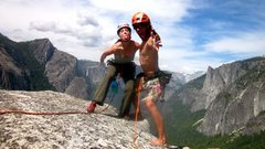 kob and dean; yosemite.