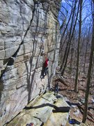 Rock Climbing Photo: Local Mike Russell
