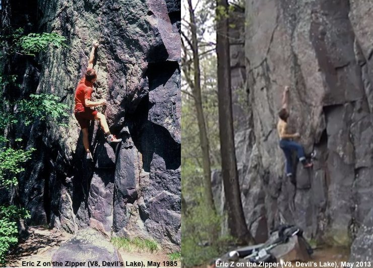Rock Climbing Photo: Borrowed a picture that Zschiesche posted of a sen...