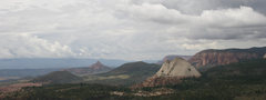 Rock Climbing Photo: Looking west from summit across Kolob terraces