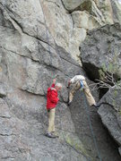 Rock Climbing Photo: The awkward start to Adolescent Homosexual.