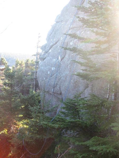 Rock Climbing Photo: Crack House Boulder