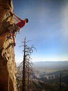 Rock Climbing Photo: warming up