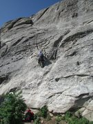 Rock Climbing Photo: Starting the route is really fun!