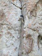 Rock Climbing Photo: Jim Donini just doin' his thing!
