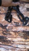 Rock Climbing Photo: Old bolt holes filled and camoflaged