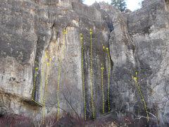 Rock Climbing Photo: China Wall