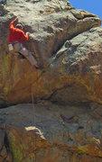 Rock Climbing Photo: Chris Owen repeats 15 years on.