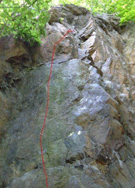 Rock Climbing Photo: Rain Check