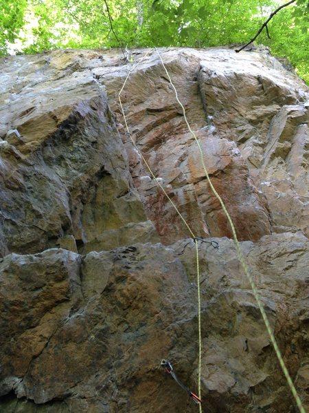 Rock Climbing Photo: Slab Dance