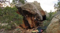 Rock Climbing Photo: Side profile of Cheat Grass Pie.