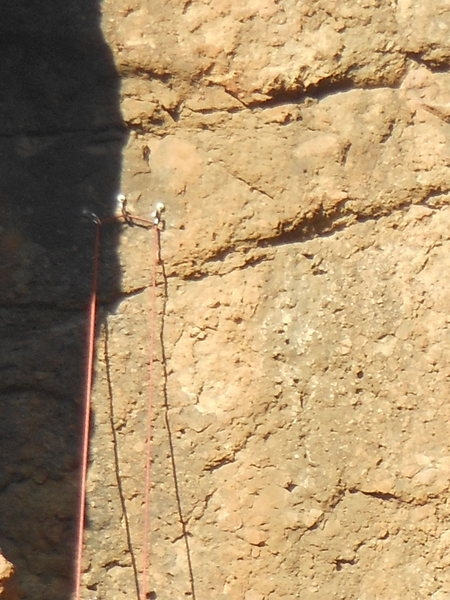 Rock Climbing Photo: Another situation where a climber has disregarded ...
