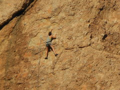 "Rock Climbing Photo: Enjoying the late afternoon sun on ""Intellito..."